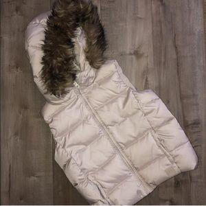EUC Gap kids size S puff vest